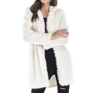 Link to Womens Fuzzy Fleece Lapel Coat Warm Outwear Jackets Similar Items in Women's Outerwear
