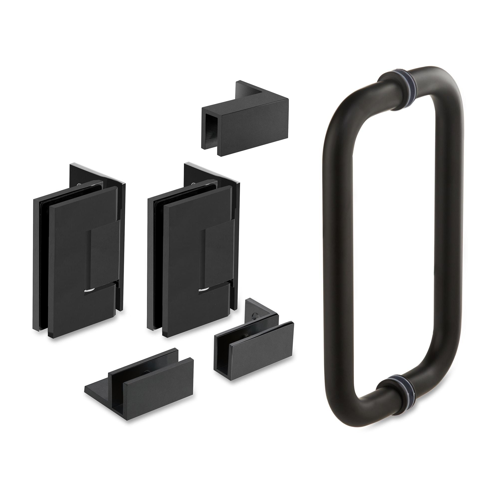 42 25 X 76 Hinged Frameless Shower Door Panel Reversible Overstock 30895025