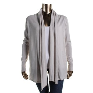 Private Label Womens Cashmere Open-Front Cardigan Sweater