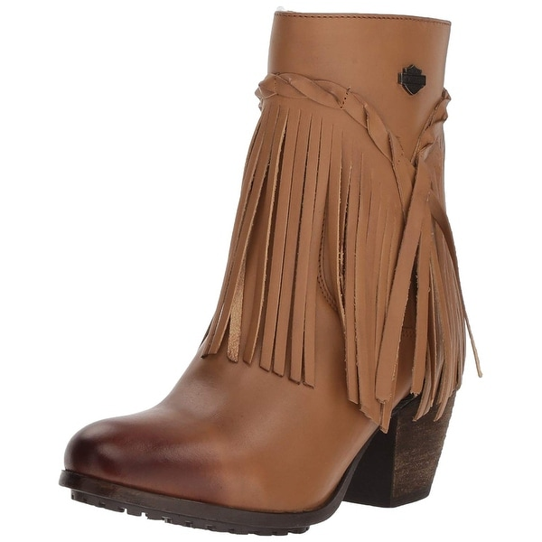 dd2adb2e2f0aa7 Shop Harley-Davidson Womens Retta Leather Closed Toe Ankle Fashion ...