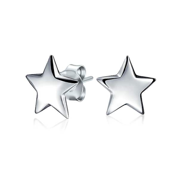 Patriotic Star Earrings
