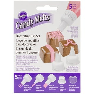 Candy Melt Decorating Tip Set-