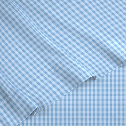 IZOD Gingham Cotton Blend Sheet Set
