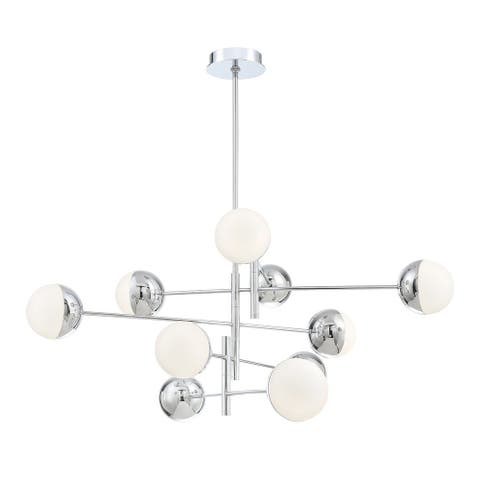 Eurofase Fairmount 10-Light G9 LED Chandelier - 35920-014