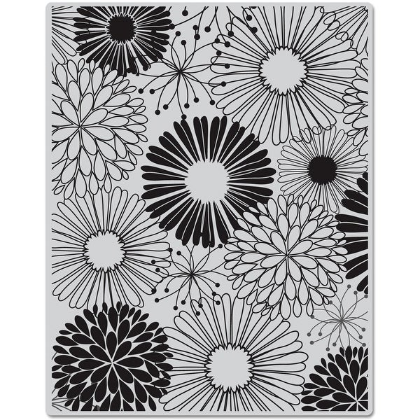 "Hero Arts Cling Stamps 4.5""X5.75""-Everything Flowers"