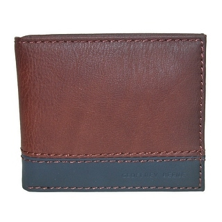 Geoffrey Beene Men's RFID Protected Two-Tone Bifold Wallet - One size