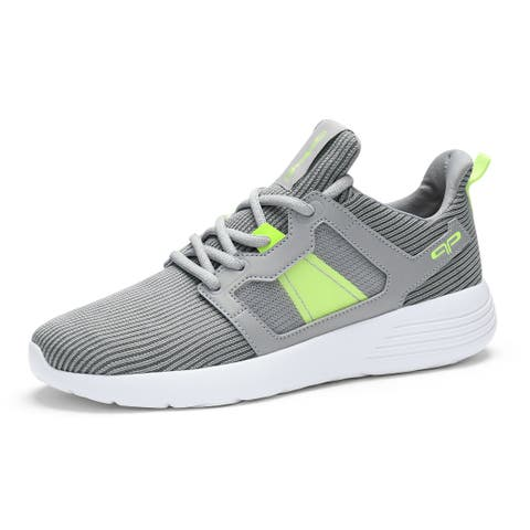 Women Lightweight Lace Up Mesh Training Sneakers