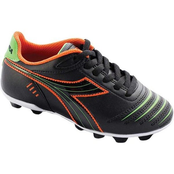 0856e57fbf2c Shop Diadora Children s Cattura MD Soccer Cleat Black Orange Lime - Free  Shipping On Orders Over  45 - Overstock - 18159000