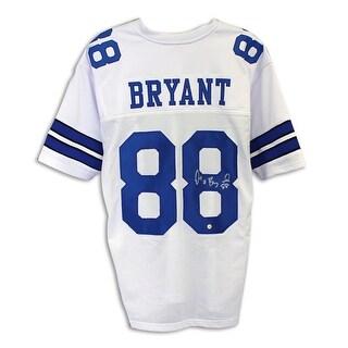Dez Bryant Dallas Cowboys Autographed White Jersey