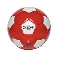 Tachikara No 5 Soccer Ball, Red/White