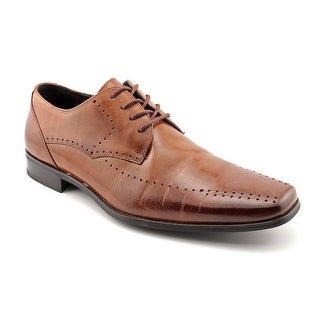 Stacy Adams Atwell Men  Bicycle Toe Leather Brown Oxford