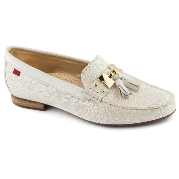 Marc Joseph New York Womens Tassle Leather Closed Toe Loafers