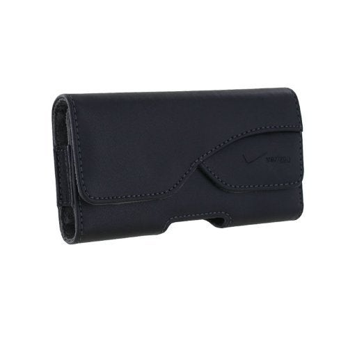 Verizon Universal Leather Pouch for Apple iPhone 5/5S/5C, Motorola Droid RAZR MA