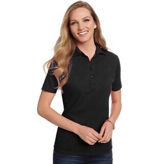 Hanes ComfortSoft Cotton Pique Women's Polo Shirt