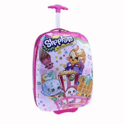 Moose Shopkins Hard Shell Children's Luggage