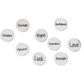 Exclusive Extra Coins Set of Inspirational Coins for Take What You Need Box - 2 in. x 3 in. x 1 in.
