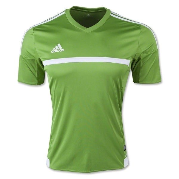 000c03752 Shop Adidas Men s MLS 15 Match Soccer Jersey T-Shirt Rave Green ...