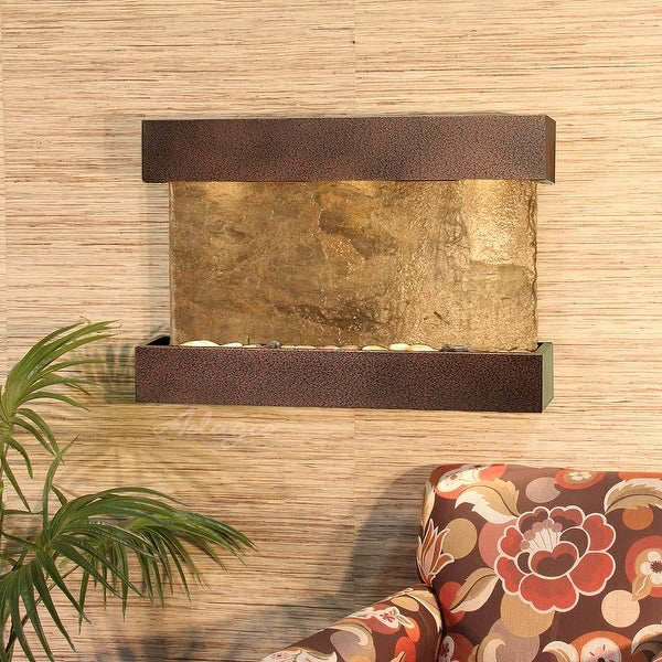 Adagio Reflection Creek Fountain with Copper Vein Finish - Multiple Colors Available