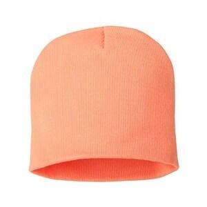 Sportsman 8 Inch Knit Beanie - Melon - One Size