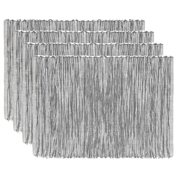 Fabstyles Shadows Cotton Placemats Set of 4 - 13x19. Opens flyout.