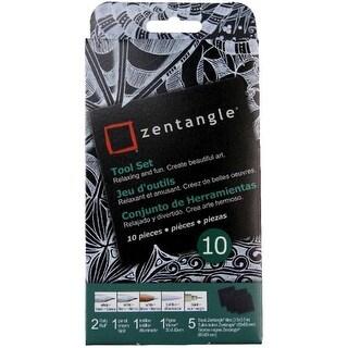 Zentangle Tool Set 10pc-Black Tiles