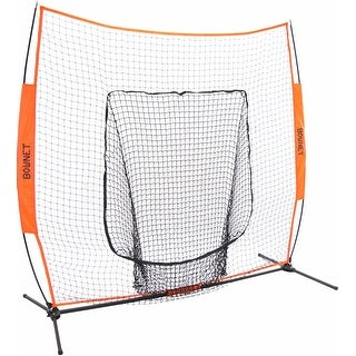 Bownet Big Mouth X Frame 7' x 7' Portable Baseball Hitting Net