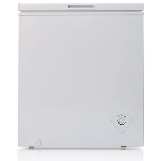 """Arctic King BWC1047 29"""" Wide 5.0 Cu. Ft. Chest Freezer with Removable Storage Basket - White - N/A"""