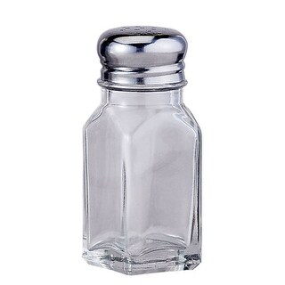 HIC 7004 Glass Salt Or Pepper Shaker