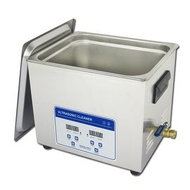 10L Professional Digital Ultrasonic Cleaner Machine with Timer Heated Stainless steel Cleaning tank 110V/220V