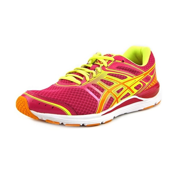 Asics Gel-Storm Round Toe Synthetic Running Shoe