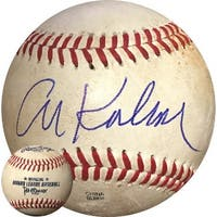 Al Kaline signed Official MLB Minor League Game Used Baseball Detroit Tigers