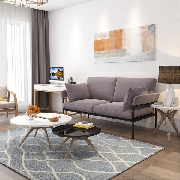 Shop Orvis Indoor & Outdoor Loveseat Chair Fabric Metal ...