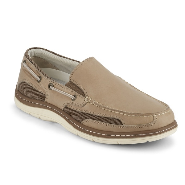 Dockers Mens Danby Leather Casual Slip-on Loafer Boat Shoe