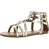 Kenneth Cole Girls Daylo Gladiator Fashion Sandals