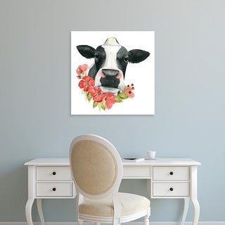 Easy Art Prints Grace Popp's 'Poppy Farm I' Premium Canvas Art