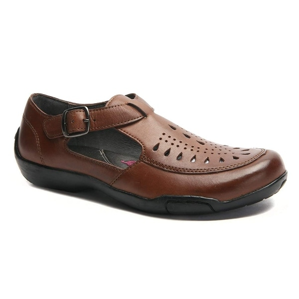 Ros Hommerson Women's Cameo Leather Pumps - 10.5