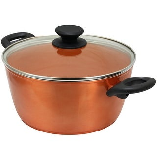 Link to Eco Friendly Home Hummington 4.5 Quart Dutch Oven with Lid in Metallic Copper Similar Items in Cookware