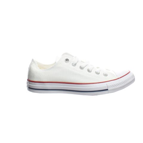 Converse Womens All Star Ox Optical White Skateboarding Shoes Size 8.5