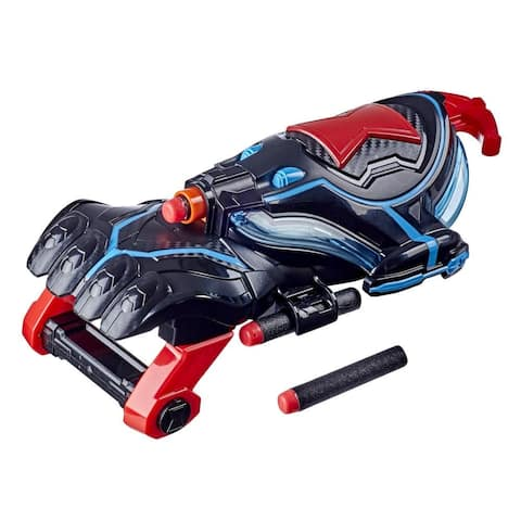 Nerf Power Moves Marvel Black Widow Stinger Strike Nerf Dart-Launching Roleplay Toy For Kids, Toys For Kids Ages 5 And