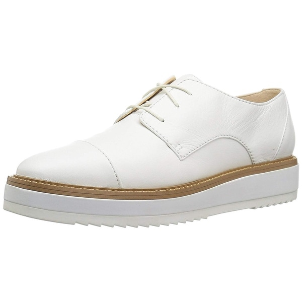 950d9cc48b1 Shop Nine West Women s Vada Leather Sneaker - Free Shipping Today ...