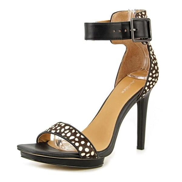 Calvin Klein Vable   Open Toe Suede  Sandals