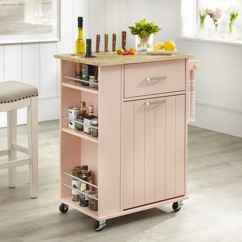 Simple Living Lima Kitchen Cart