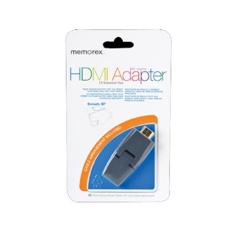 Memorex HDMI 90 Degree Swivel Adapter