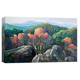 "PTM Images 9-102024  PTM Canvas Collection 8"" x 10"" - ""Lees Tree"" Giclee Forests and Mountains Art Print on Canvas"