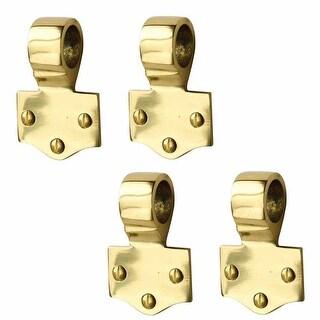 4 Sash Lift Solid Brass Offset Eye