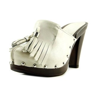 Antonio Albaneoe 6074   Open Toe Leather  Platform Heel