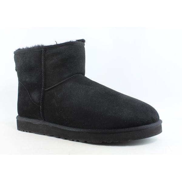 2ec8a71b667 Shop UGG Mens Classic Mini Black Snow Boots Size 16 - Free Shipping ...