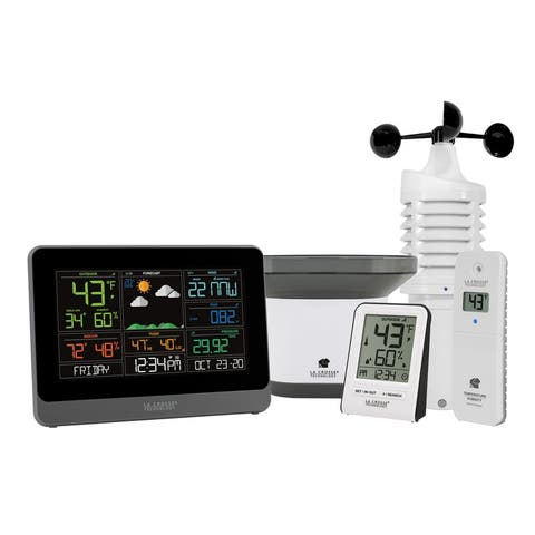 La Crosse Technology 328-10618-INT WiFi Professional Weather Center