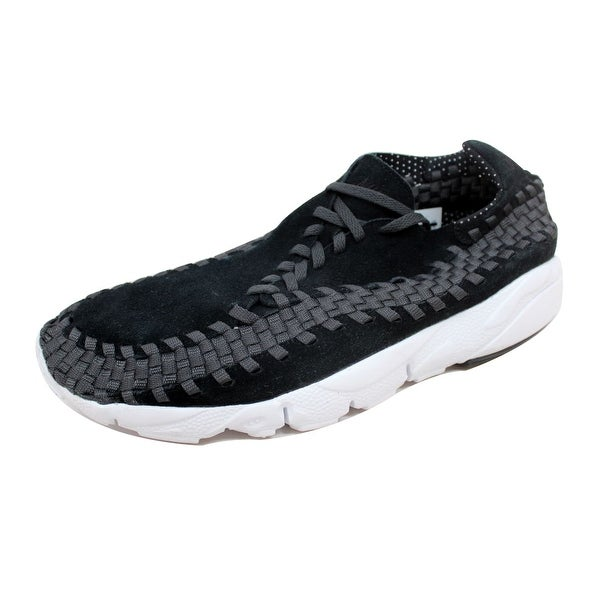 Nike Men's Air Footscape Woven NM Black/Black-Anthracite-White 875797-001 Size 12.5