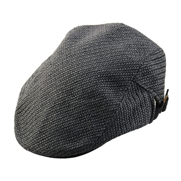 3a09593ec2d Men Women Vintage Newsboy Linen Ivy Cap Driving Golf Flat Beret Hat Dark  Gray